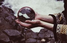 la [min-ya-'net]: Haunted by Alison Scarpulla #crystal #future #ball