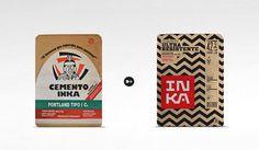 Crit* Inka Cement The Dieline #cement #inca