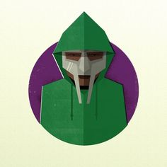 All sizes | MF Doom | Flickr - Photo Sharing! #doom #digital #illustration #mf #collage