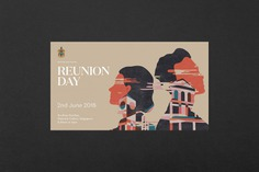 Raffles Institution Reunion Day - Mindsparkle Mag Darling Visual Communications curated an identity system for Rafflesians' dinner anniversary. Event collaterals included main graphics, stationery, packaging, booklet and digital banners. #logo #packaging #identity #branding #design #color #photography #graphic #design #gallery #blog #project #mindsparkle #mag #beautiful #portfolio #designer