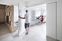 Asolidplan Creates A Flexible Living Space With Movable Walls 5