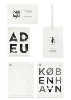 Klas Ernflo 'Still Light' identity & posters » Tom Walsh Design #ernflo #klas #print #identity #poster