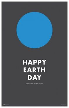 Happy Earth Day | Flickr - Photo Sharing! #creative #happy #design #graphic #earth #cabbage #poster #day