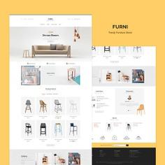 #Furni #Furniture Store #Prestashop #Responsive #Theme #TemplateTrip #eCommerce #Website #Template