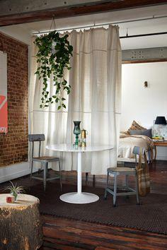 3Freimuth #loft #small #curtain #space #apartment