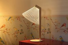 New 3D Optical Illusion Lamps by Studio Cheha