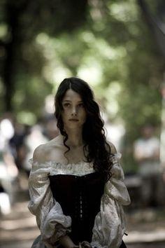 Àstrid Bergès-Frisbey in the film 'Bruc' (2010):