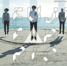 FUJIFABRIC #cover #album #photography #typography