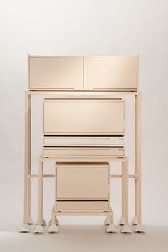 invader, storage, system, design, furniture, art , archicture, wood, oak, natural, nordic, furnituredesign