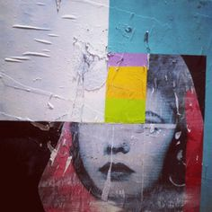 Steffen Quong Art #quong #media #paint #mixed #steffen #face #collage #spray