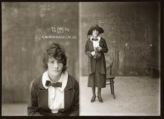Portraits de criminels australiens dans les années 1920 | La boite verte #sydney #portrait #criminal #1920