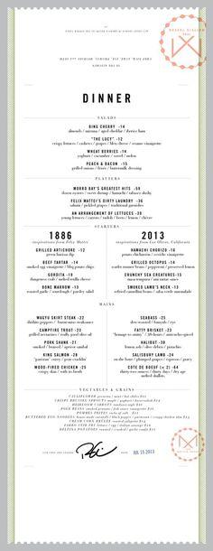 Mattei's Tavern #menu