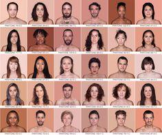 HUMANAE BY ANGÉLICA DASS - follow dailyinspiration #skin #colour #faces #pantone