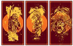 Burn a Sinner #witch #fire #illustration