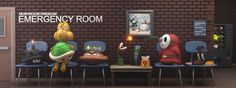 JoshMaule- Mushroom Kingdom Emergency Room #3d #awsome #mario #fantastic #blender