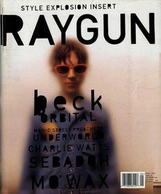 raygun Magazine Cover #magazine #rock #raygun #beck #alternative