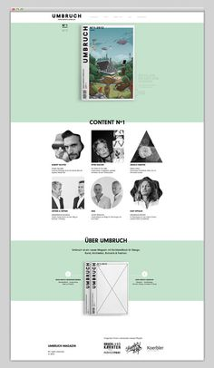 Umbruch #website #layout #design #web