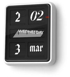 Polimekanos: Case studies: Font clock #clock #font