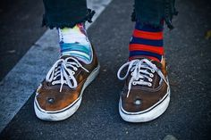 the Sea-Farer (Stance Socks (that's mine on the right foot!) —-...) #vans