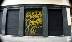 Typeverything.com 'Bloody Graffiti' by Doing... - Typeverything #graffiti #displays #bloody #shops #windows