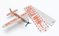Forza Wings | SM #printed #packaging #plane #kit #glider #toy