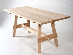 Hand Made Patio Table by Chris Gray Furniture | CustomMade.com