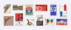 illustration, vintage, stamp