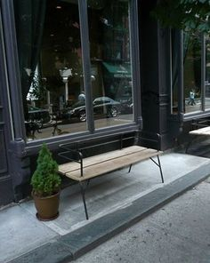 FFFFOUND! | Panka Indoor/ outdoor bench by filos on Etsy #window #bench