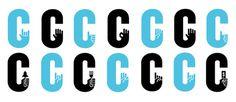 covington logo #font #c #typography