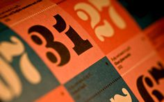 Eames Stencil #numerals #house #house industries #numbers #industries