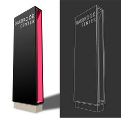 Wayfinding | Signage | Sign | Design | 镂空精神堡垒