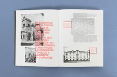"Interactive printing Book ""O Vimaranense Errante"" on Behance #book"