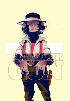 tumblr_m11w9wOud91qbc9oso1_500.jpg (490×700) #illustration #robbi #monkey #rodriguez