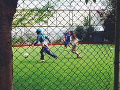 Istanbul Heboliada girl in hijab chases football | Flickr - David Walby #islands #turkey #walby #hijab #istanbul #iphone #photography #princes #football #david #wall-b