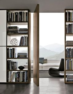 "Image Spark Image tagged ""door"", ""architecture"", ""room"" constanzaines #bookcases #interiors"