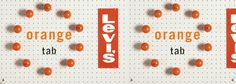 Levi's Orange Tab | Werner Design Werks #fashion #levis #advertising