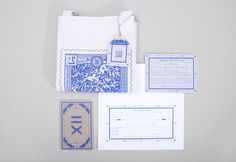 Avalance full set #print #design #graphic #identity #blue