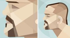 Independent #vector #graphic #geometric #daly #illustration #portrait #jack #prokofiev #art