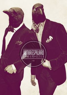 VIOLENCE GRAPHIQUE #flyer #crows #suits #dapper avians