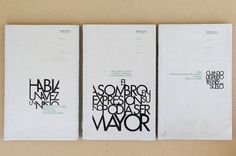 Book Covers by Diego Pinzon at Coroflot #diego #pinzon #graphic #book #printing #layout #editorial