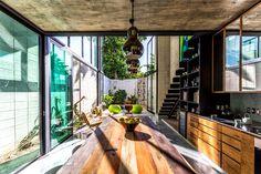 Modern Mexican House Located in Yucatan - #architecture, #home, #decor, #interior, #homedecor,
