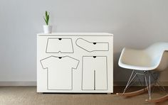 Training Dresser « Shoebox Dwelling #furniture