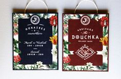 Le Jardin Colonial Branding – Fubiz™ #design #graphic #tea