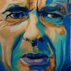 Arsène Wenger #painting #oil