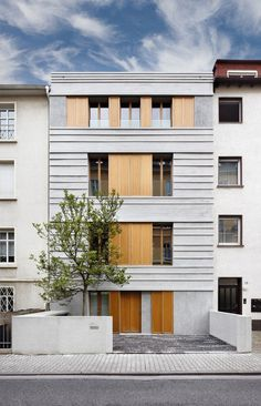 Original Character of 19th Century Building Revitalized: The Pünktchen Project #architecture