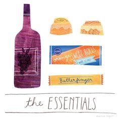 MarisaSeguin_TheEssentials_04 #illustration #food