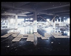 Large Type in Abandoned Spaces on Typography Served #photography #typography