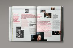 MagSpreads Magazine Design and Editorial Inspiration: Guimarães 2012 – Programme Book #magazine