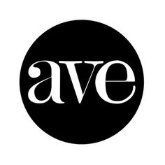 AVE LOGO #logo #branding #magazine
