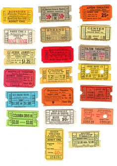 cinema ticket account #cinema #tickets
